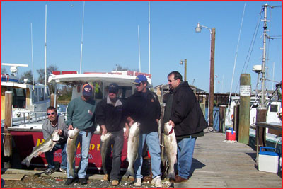 Rockfish Opening Day - Nordquist Fishing Party