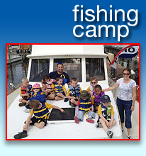 Kid's Fishing Camp