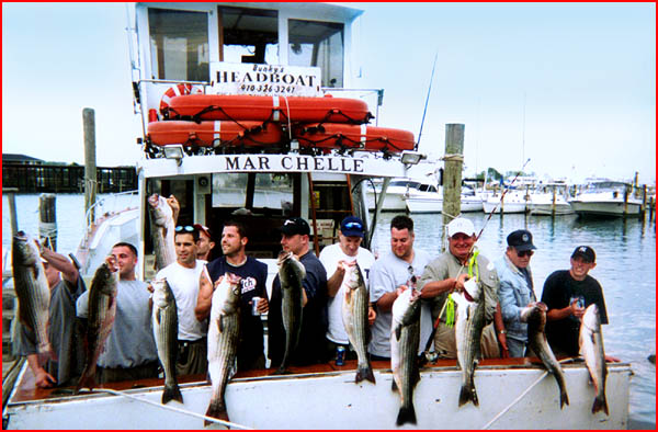 Bunky 39 s charter boats the marchelle charter boat for Solomons island fishing report