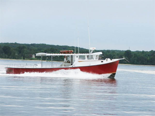 bunky 39 s charter boats the red osprey charter boat